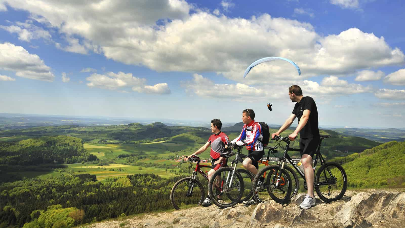 Mountainbike Rhön Biking Radfahren